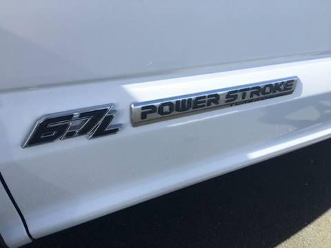 2017 Ford F-550 Super Duty