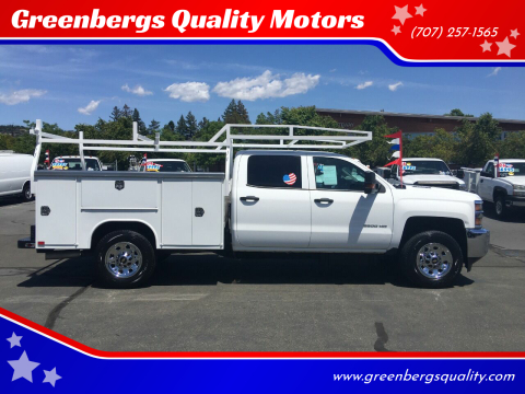 2015 Chevrolet Silverado 3500HD Work Truck for sale at Greenbergs Quality Motors in Napa CA