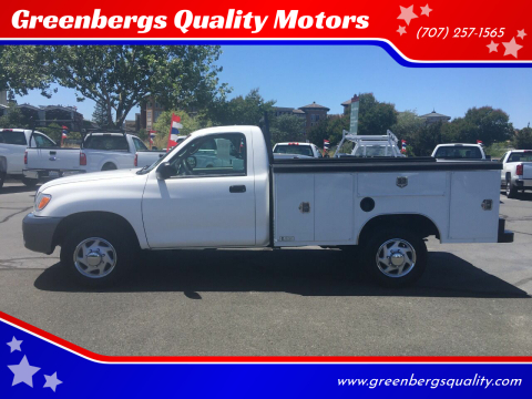2003 Toyota Tundra for sale at Greenbergs Quality Motors in Napa CA