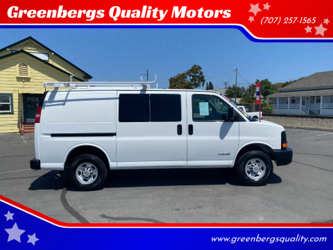 2005 Chevrolet Express Cargo for sale at Greenbergs Quality Motors in Napa CA