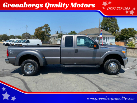 2014 Ford F-350 Super Duty for sale at Greenbergs Quality Motors in Napa CA