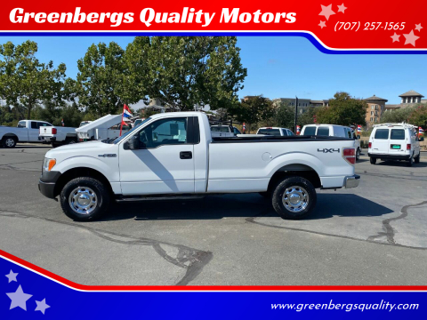2012 Ford F-150 for sale at Greenbergs Quality Motors in Napa CA