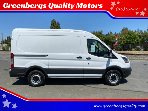 2017 Ford Transit Cargo for sale at Greenbergs Quality Motors in Napa CA