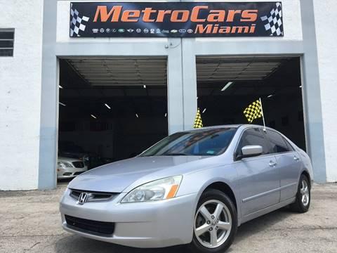 2005 Honda Accord for sale in Miami, FL