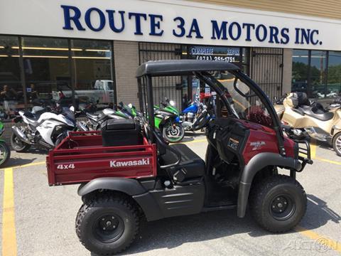 2019 Kawasaki Mule Sx 4X4 Efi