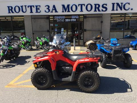 Can Am For Sale >> 2018 Can Am Outlander For Sale In North Chelmsford Ma