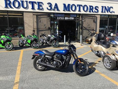 2016 Harley-Davidson® Street for sale in North Chelmsford, MA