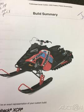 2020 Polaris 800 SWITCHBACK XCR ES SNOW CHE for sale in North Chelmsford, MA