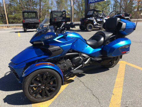2018 Can-Am SPYDER F3 LIMITED SE6 BLACK PA for sale at ROUTE 3A MOTORS INC in North Chelmsford MA