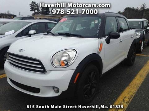 2013 MINI Countryman for sale at 125 Auto Finance in Haverhill MA