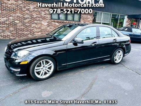 2014 Mercedes-Benz C-Class for sale at 125 Auto Finance in Haverhill MA