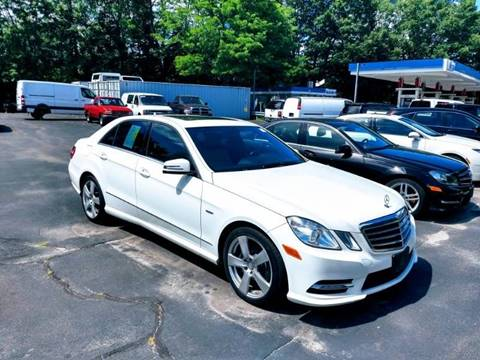 2012 Mercedes-Benz E-Class for sale at 125 Auto Finance in Haverhill MA