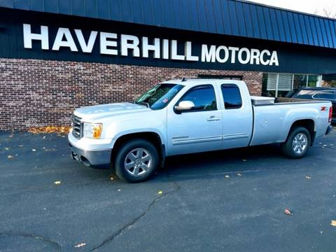 2012 GMC Sierra 1500 for sale at 125 Auto Finance in Haverhill MA