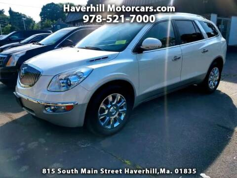 2012 Buick Enclave for sale at 125 Auto Finance in Haverhill MA