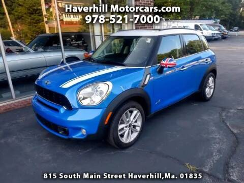 2012 MINI Cooper Countryman for sale at 125 Auto Finance in Haverhill MA