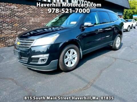 2013 Chevrolet Traverse for sale at 125 Auto Finance in Haverhill MA