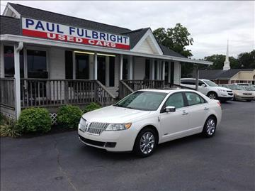 2012 Lincoln MKZ Hybrid for sale in Greenville, SC