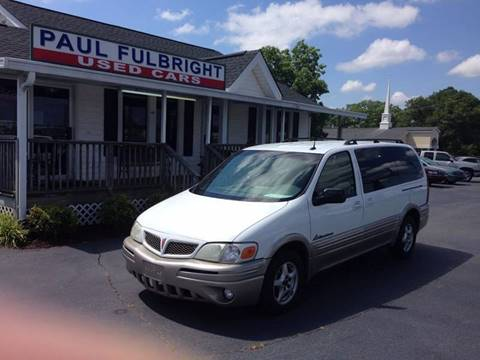 2004 Pontiac Montana for sale in Greenville, SC