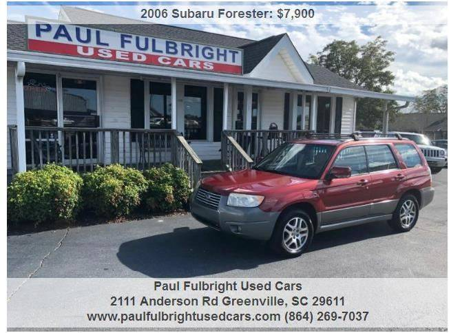 Paul Fulbright Used Cars Used Cars Greenville Sc Dealer