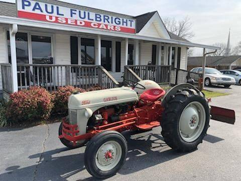 Used Cars Greenville Sc >> 1950 Ford 8n In Greenville Sc Paul Fulbright Used Cars