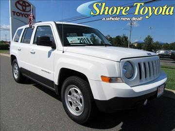 2016 Jeep Patriot for sale in Mays Landing, NJ