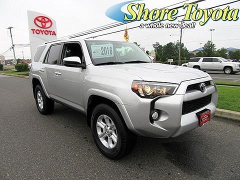 2016 Toyota 4Runner for sale in Mays Landing, NJ