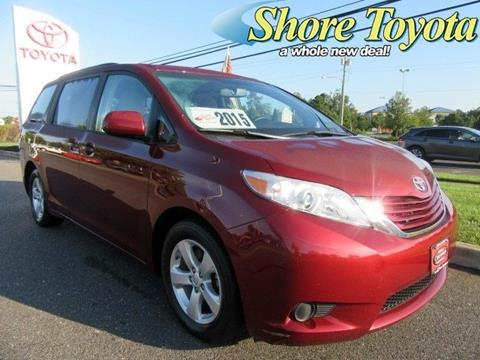 2015 Toyota Sienna for sale in Mays Landing, NJ