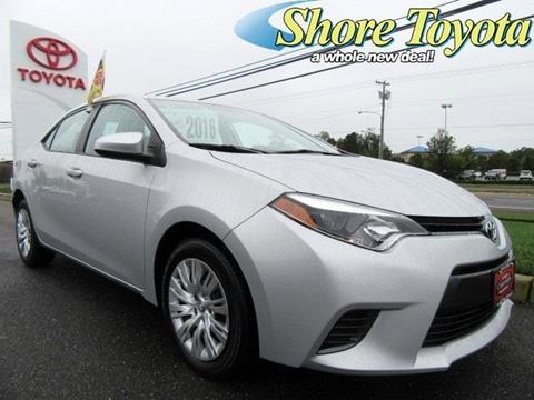 2016 Toyota Corolla for sale in Mays Landing, NJ