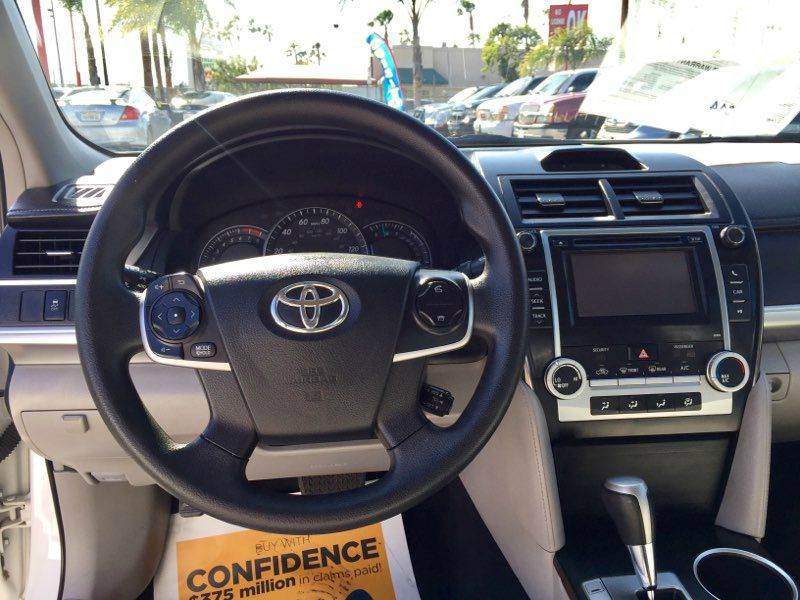2013 Toyota Camry for sale at BaySide Auto in Wilmington CA