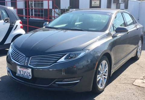 2015 Lincoln MKZ Hybrid for sale at BaySide Auto in Wilmington CA