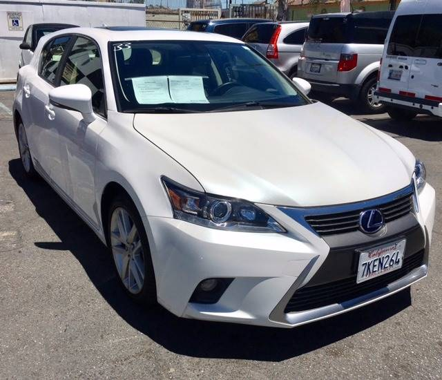 2015 Lexus CT 200h for sale at BaySide Auto in Wilmington CA