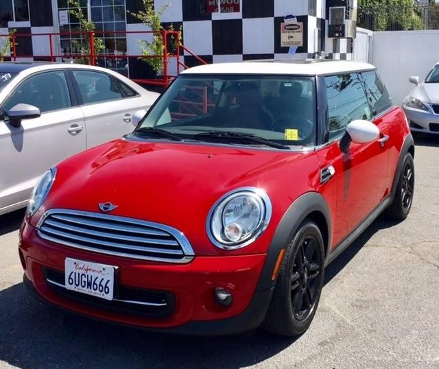 2012 MINI Cooper Hardtop for sale at BaySide Auto in Wilmington CA