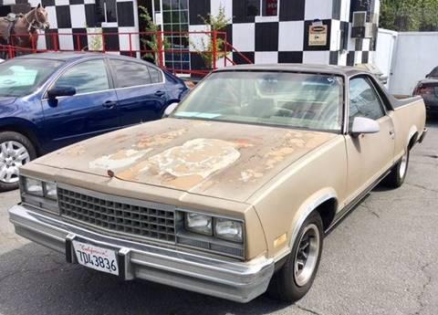 1985 Chevrolet El Camino for sale at BaySide Auto in Wilmington CA