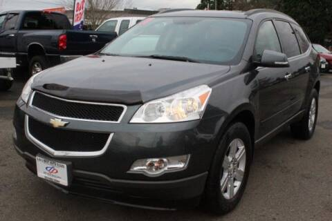 2011 Chevrolet Traverse LT for sale at S&S Best Auto Sales LLC in Auburn WA