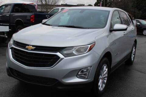 2018 Chevrolet Equinox LT for sale at S&S Best Auto Sales LLC in Auburn WA
