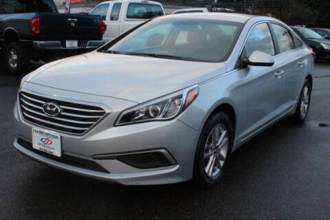 2017 Hyundai Sonata for sale at S&S Best Auto Sales LLC in Auburn WA