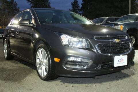 2015 Chevrolet Cruze LTZ Auto for sale at S&S Best Auto Sales LLC in Auburn WA