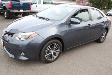 2016 Toyota Corolla for sale at S&S Best Auto Sales LLC in Auburn WA