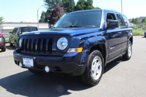 2015 Jeep Patriot for sale at S&S Best Auto Sales LLC in Auburn WA