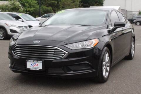 2017 Ford Fusion for sale at S&S Best Auto Sales LLC in Auburn WA