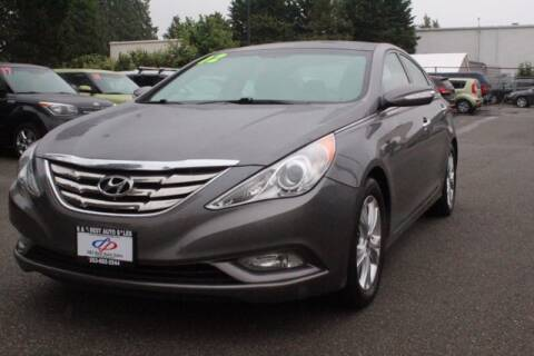 2012 Hyundai Sonata for sale at S&S Best Auto Sales LLC in Auburn WA