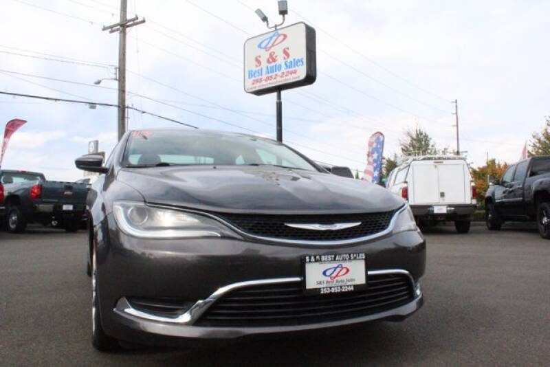 2015 Chrysler 200 for sale at S&S Best Auto Sales LLC in Auburn WA