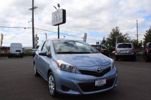 2014 Toyota Yaris for sale at S&S Best Auto Sales LLC in Auburn WA