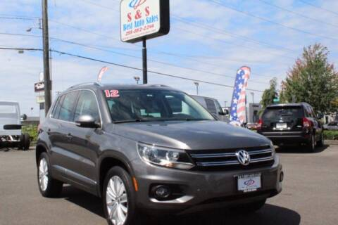 2012 Volkswagen Tiguan for sale at S&S Best Auto Sales LLC in Auburn WA