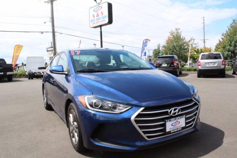 2017 Hyundai Elantra for sale at S&S Best Auto Sales LLC in Auburn WA
