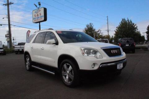 2012 GMC Acadia for sale at S&S Best Auto Sales LLC in Auburn WA