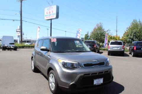 2016 Kia Soul for sale at S&S Best Auto Sales LLC in Auburn WA
