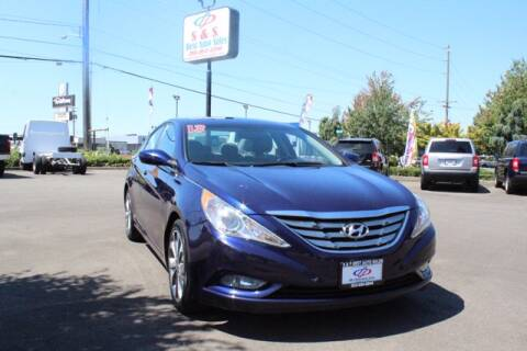 2013 Hyundai Sonata for sale at S&S Best Auto Sales LLC in Auburn WA