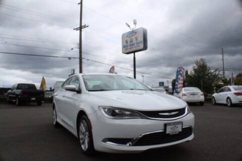 2016 Chrysler 200 for sale at S&S Best Auto Sales LLC in Auburn WA