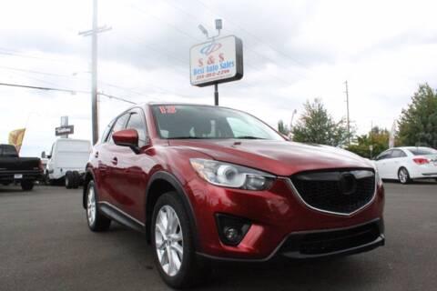 2013 Mazda CX-5 for sale at S&S Best Auto Sales LLC in Auburn WA
